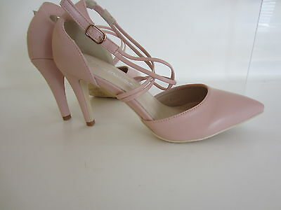 Anne Michelle f10551 Pink Damen Hof Schuhe uk3 to 8 (R11B)