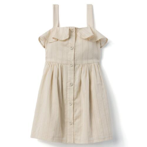 NWT Gymboree Cream Button Dress Toddler Girls  and kid girl sizes