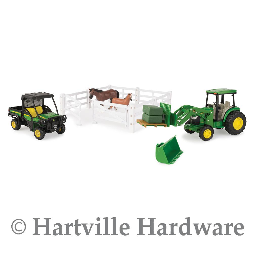 ERTL échelle 1  16 John Deere Big Farm Hobby Farm Set LP66953 46625  Dans votre attente