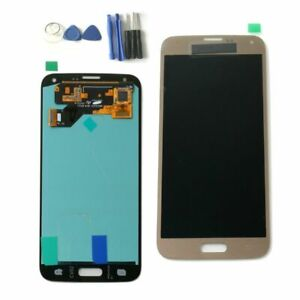 Fuer-Samsung-Galaxy-S5-Neo-SM-G903F-LCD-Display-Touch-Screen-Digitizer-Gold-RHNDE