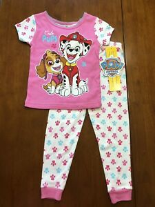 "Paw Patrol snug fit pjs /""Cute/"" with Skye Ruble and Marshall"