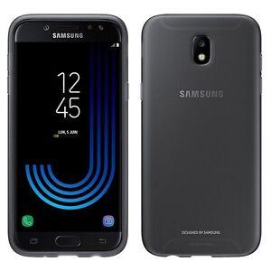 Samsung-Dual-Layer-Cover-Schutzhuelle-EF-PJ730-fuer-J7-2017-A730-Huelle-Case-Black