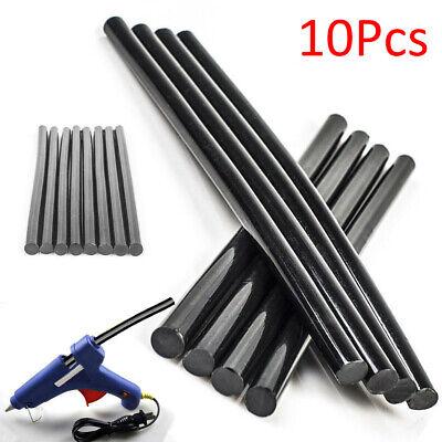 10pcs Black Glue Sticks Auto Body Painltess Dent Repair For Hail Puller Tool