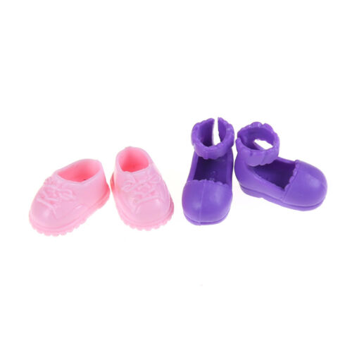 5Pairs Fashion Shoes Boots For  Sister Kelly Eva Doll Kids Giftc  VGCA