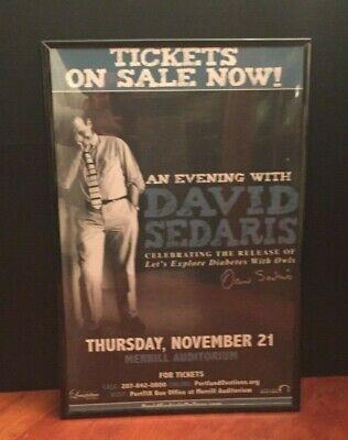 David Sedaris Author Signed Bookplate