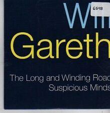 (CB105) Will Young / Gareth Gates, Long & Winding Road - 2002 DJ CD