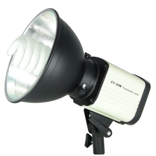 Tageslichtlampe DayLight Studioleuchte Fotolampe DynaSun CY25W 150W Studioset