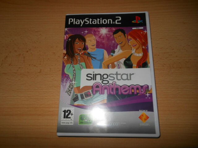 SINGSTAR ANTHEMS FOR PLAYSTATION 2 PS2 PAL MINT COLLECTORS