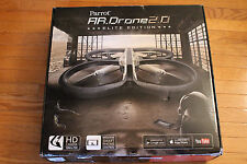 Parrot AR Drone 2.0 Sand EE Elite Edition w HD Camera Flying RC Vehicle w extras