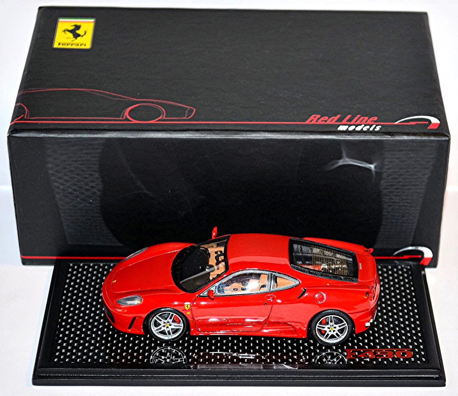 Ferrari f430 Berlinetta 2005-09 Rouge rouge 1 43 rouge Line