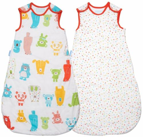 18 36 months Grobag 1.0 2.5 Tog Day /& Night TWIN PACK  Spotty Bear 0 6 6 18