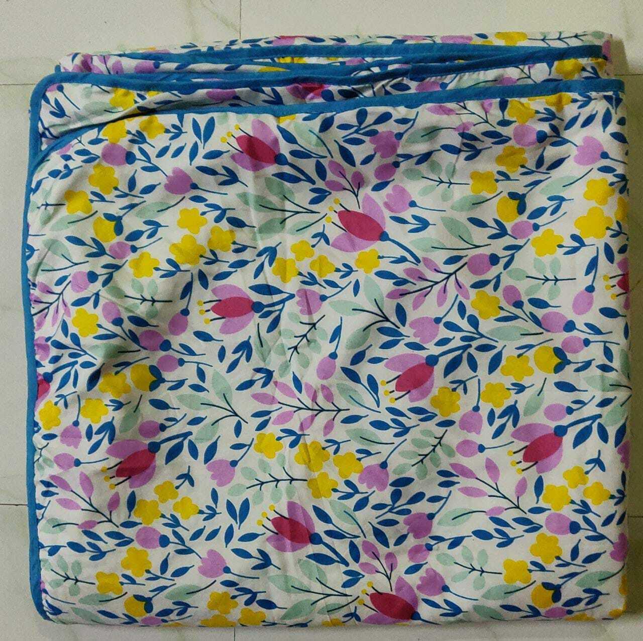 Steppdecke 1 Polybaumwolle Mehrfarbig Wendbar Bedruckt Decke Bettdecke Dohar