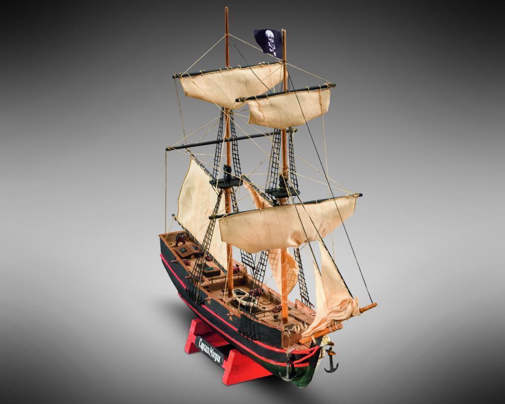 MM05 Captain Morgan ( modellino in legno da costruire costruire costruire ) 7a1603