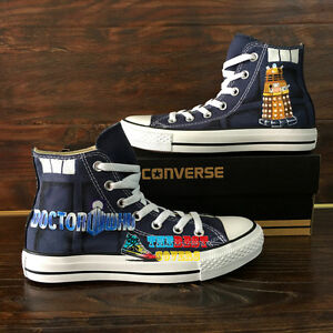 Doctor Who Converse Shoes Ebay