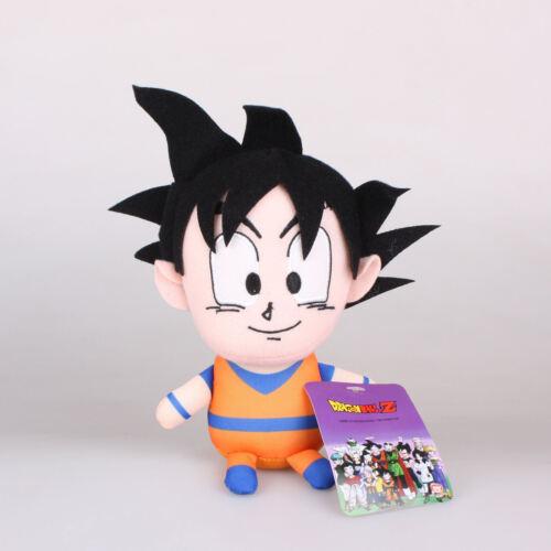 15Cm Dragon Ball Z Son Goku Plush Toys Soft Doll Key Chain Ring Pendant Strap