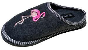 Filz 36 Damen Gr Hausschuhe Pantoffeln Filzpantoffeln Flamingo 41 Filzsohle gnqPxpt