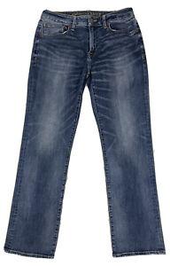 American Eagle Extreme Flex Original Boot Jeans Blue Stretch Denim Men's 31x32