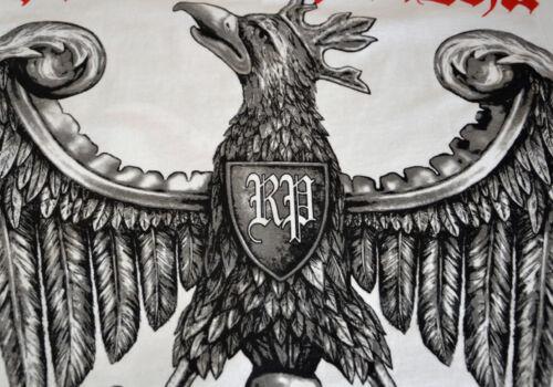 T-Shirt Koszulka Polish Poland Polen Polska Walczaca Eagle Orzeł Flag Patriotic