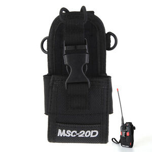 MSC-20D-Nylon-Walkie-Talkie-For-Baofeng-Motorola-Kenwood-Case-Bag-Radio-Holster