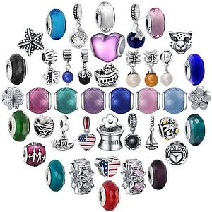 New-Arrival-Colorful-Glass-Bead-Charms-For-925-Sterling-Silver-Bracelets-Bangle