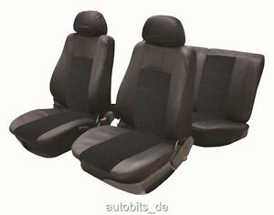2x Sitzbezug Sitzbezüge Schonbezüge Rot für KIA Mazda MINI Mitsubishi Nissan