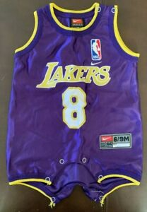 Lakers Kobe Bryant 6/9 Months Toddler Baby Authentic Nike Jersey ...