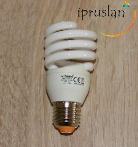 7pcs Longlife Low Energy Saver Spiral Light Bulb 18w 220