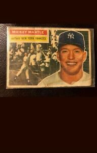 1956-Topps-MICKEY-MANTLE-135-HOF-New-York-Yankees