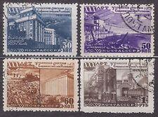 RUSSIA SU 1948 USED SC#1193/96 Ukrainian SSR, 30th anniv.