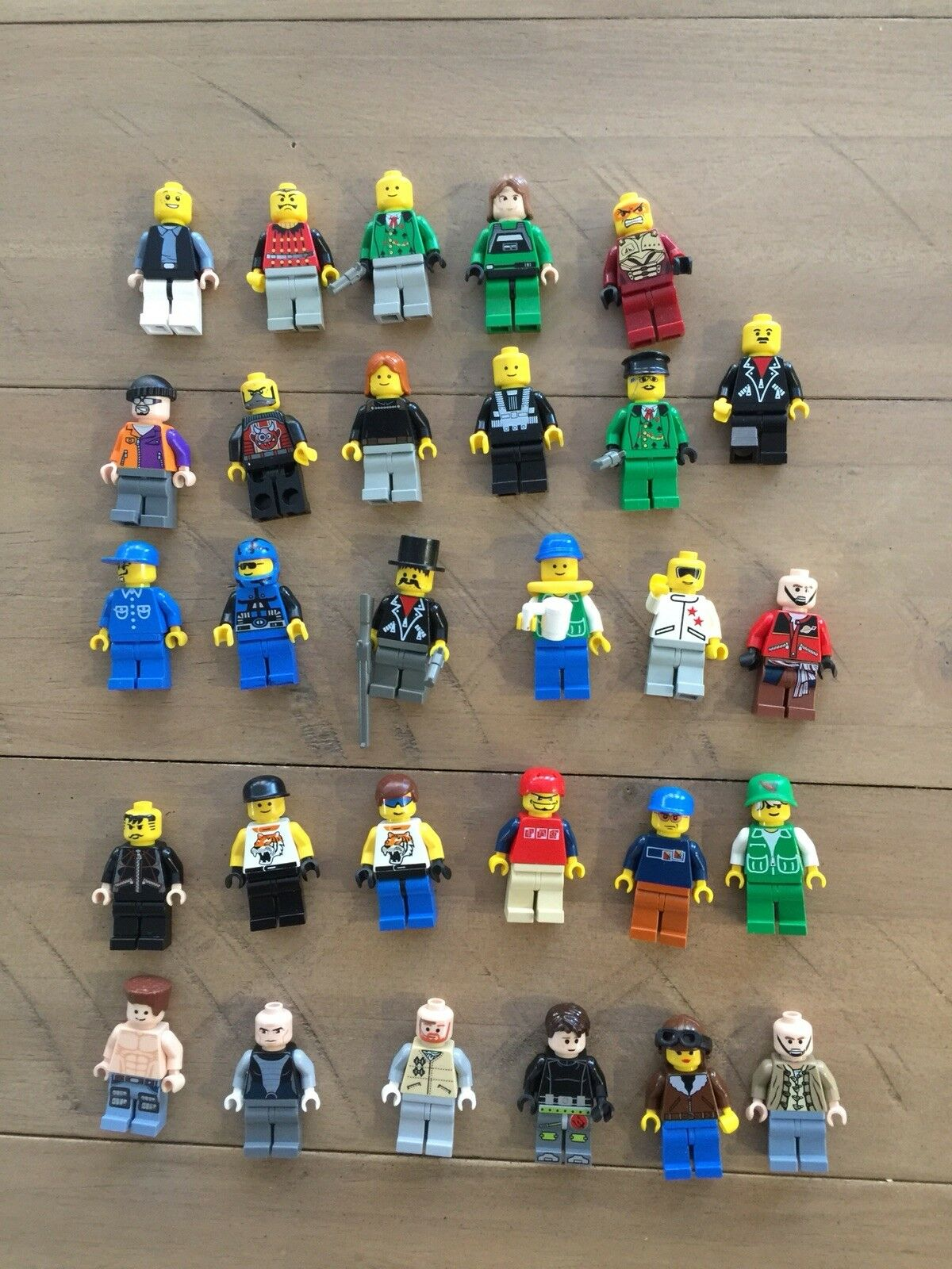 LEGO MINIFIGURES MIXED MIXED MIXED LOT OF 25+ 4735d2