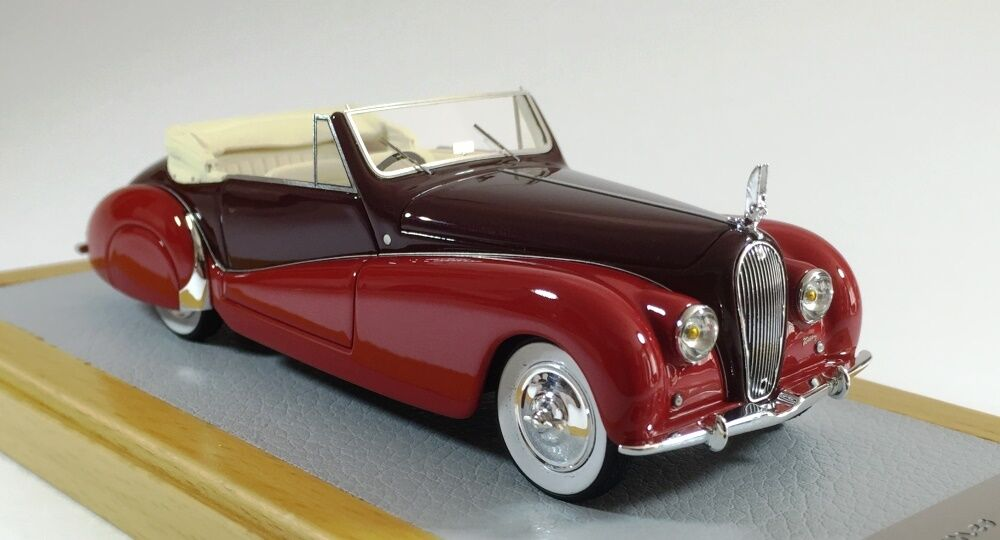CHROMES 069 - Voisin C28 Cabriolet Saliot 1938 sn53002 Current Car 1 43