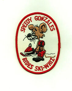 SNOWMOBILE COLLECTIBLES--SPEEDY GONZALES RIDES HARLEY--NEW--FREE SHIPPING!