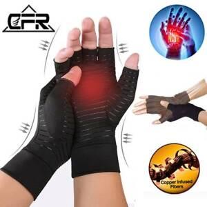 Cooper Ankle Anti Arthritis Health Compression Therapy Gloves Rheumatoid Hand PF