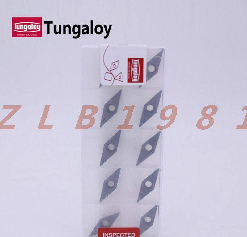 10PCS NEW- Tungaloy CNC Blade VCMT160404-PS NS530