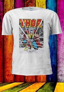 MERAVIGLIE-Thor-Martello-spacca-gli-Avengers-Uomini-Donne-Unisex-T-shirt-952