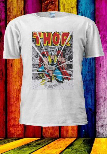 MARVELS THOR HAMMER SMASH THE AVENGERS Men Women Unisex T-shirt 952