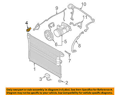 NISSAN OEM Air Conditioner A/C-Refrigerant Pressure Sensor 921361FA0A   eBay