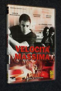 DVD-ORIGINALE-VELOCITa-MASSIMA-VICARI-VALERIO-MASTRANDREA-MEDUSA-Q15-LV