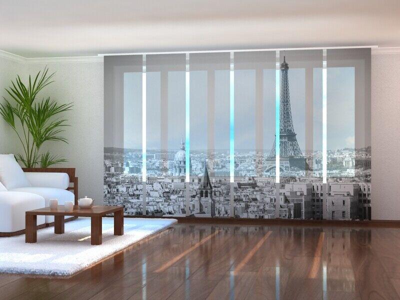 Foto tenda Parigi Eiffel Torre scorrevoli sipario Tenda scorrevole con foto su misura