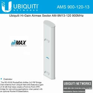 Image Is Loading Ubiquiti AM 9M13 120 Airmax Sector Antenna