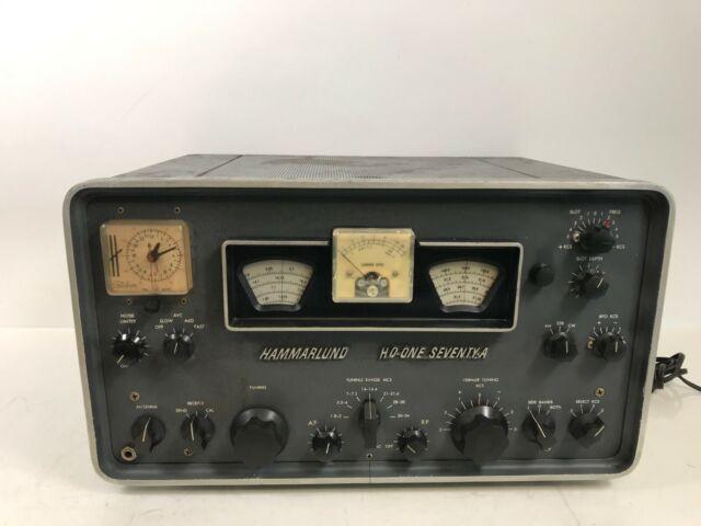 Vintage Hammarlund Hq One Seventy Ham Radio Receiver For Sale Online Ebay