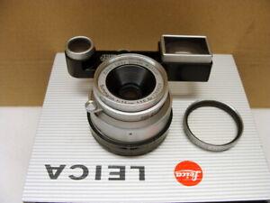 Leitz-Wetzlar-Leica-Summaron-M-3-5-35mm-mit-Brille-034-1a-Sammlerstueck-034-TOP