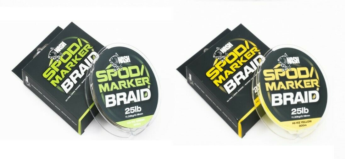 Nash Spod Marker Braid Both Colours Available New   factory outlet online discount sale