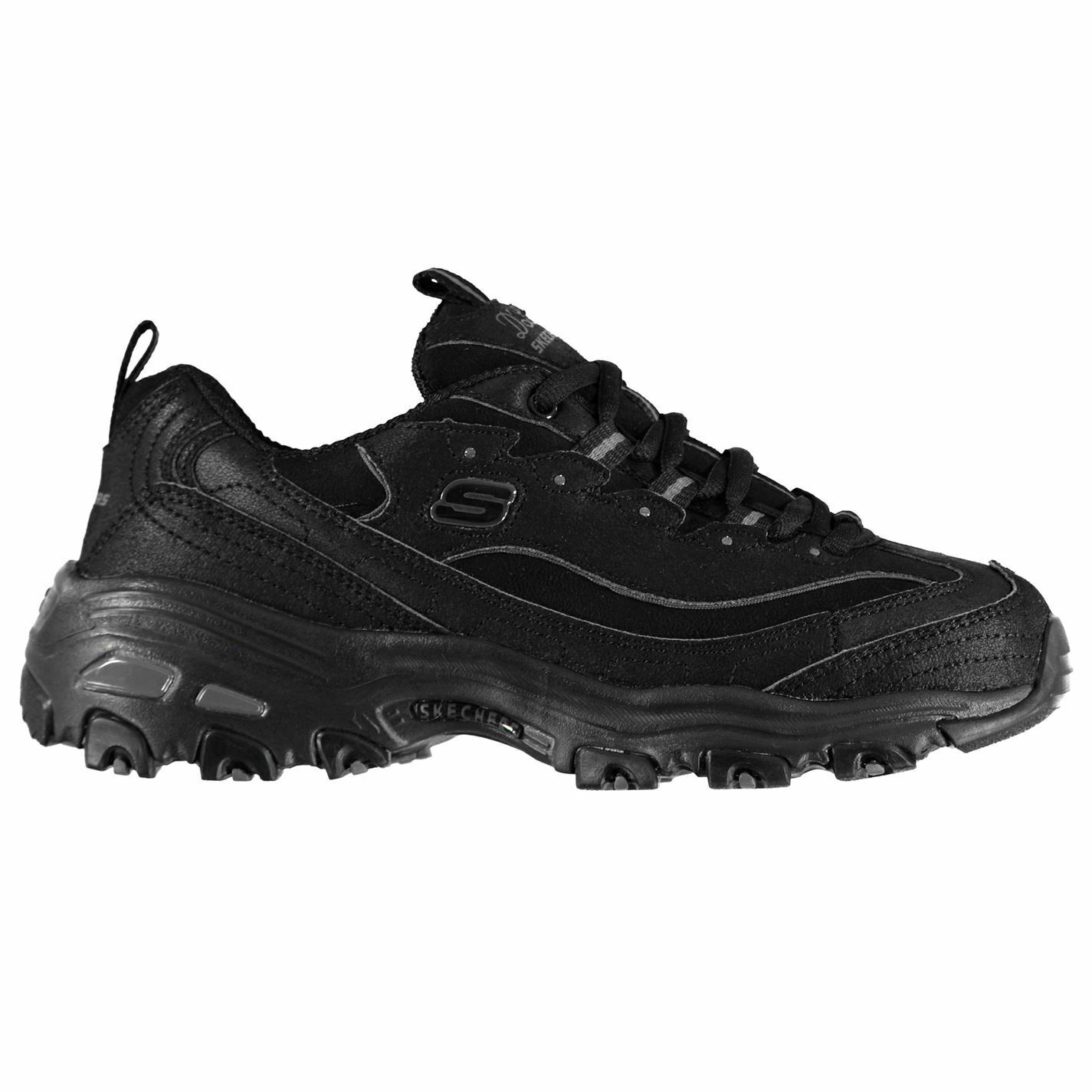 Womens Skechers D Lites Trainers Runners Lace  Up Textured New  welcome to order