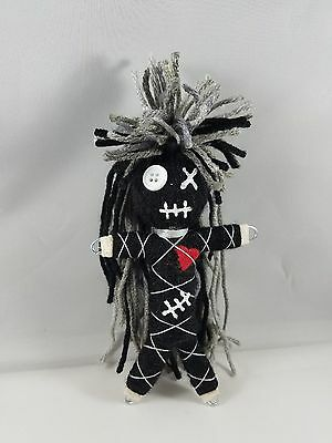 Authentic Voodoo doll real Gray Stitch 7 pins guide karma new orleans hoodoo