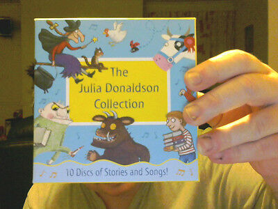 THE JULIA DONALDSON COLLECTION ON 10 CDS GREAT XMAS GIFT!