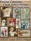 Vintage Christmas Cross Stitch Pattern Collection: Black & White Charts by Tracy Warrington (Paperback / softback, 2014)