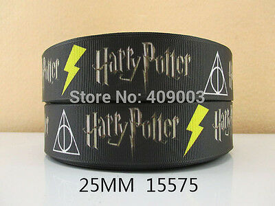 """HARRY POTTER RIBBON 1/"""" Wide or 25mm NEW  UK SELLER FREE P/&P"""