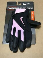 Nike Diamond Elite Edge Kids' T-ball Batting Gloves Gb0354-006 Size Ys/m