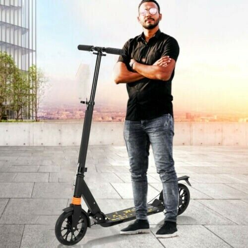 Folding Adult Ride Kick Scooter Outdoor Portable Lightweight